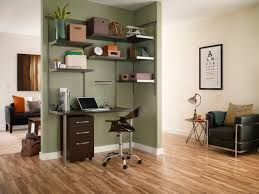 white gray solid wood office. Luxury Office Closetmaid Furniture Ideas Come With Brown Solid Wood Hanging Shelves And Gray White
