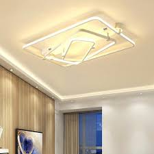 ceiling lights decorative ceiling light fixtures new square lighting modern living room lamps led fitt