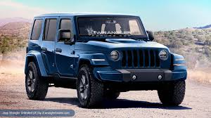 2018 jeep military. wonderful military 2018 jeep wrangler unlimited rendering with jeep military