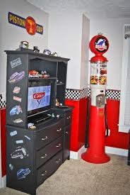 race car bedroom decorating ideas | Disney Cars Bedroom, Disney Cars theme  bedroom Includes a