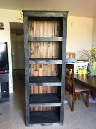 Pallet Shelving Tower / Bookcase - 30 Easy DIY Pallet Ideas for Your Next  Projects |