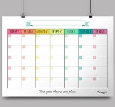Printable Calendar Sample Best Monthly Templates In High PDF Files To Be Printed On Standard 4444 X