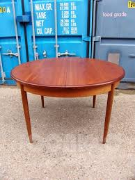 60s 70s retro vintage mid century g plan fresco round extending dining table