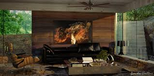 imagas wooden living room