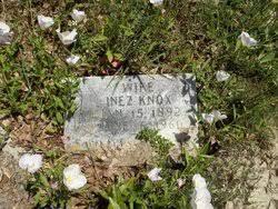 Inez Williams Knox (1892-1960) - Find A Grave Memorial