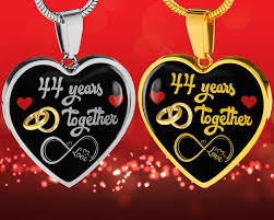 personalized engraved 44th wedding anniversary gift for her married 44 years