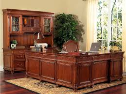 Why Hardwood Desk Is Real Exquisite Office Furniture Model 1