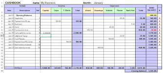 small business spreadsheet template excel cashbook for easy bookkeeping