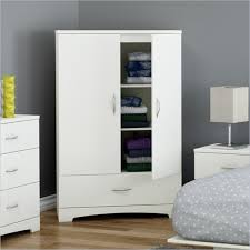 White Clothes Storage Wardrobe Cabinet Armoire With Bottom Drawer White Armoire Drawers R56