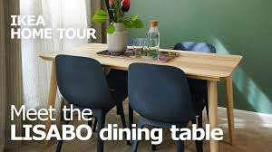 Stain Resistant Lisabo Dining Room Tables Ikea Home Tour Youtube