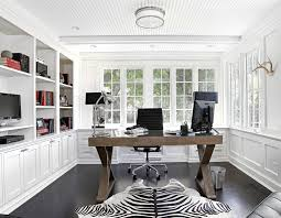 beautiful inspiration office furniture chairs. New York Beautiful Inspiration Office Desk Home Traditional With White Wainscoting Leather Executive Chairs Furniture N