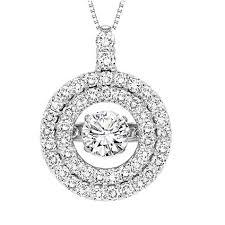 diamond rhythm of love pendant stock rol1076