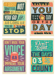 Quote Posters Simple Printable Vintage Motivational Quote Posters