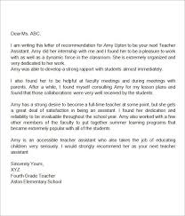 letter of recommendation for a teacher from a parent teaching reference letter kays makehauk co