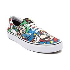 vans nintendo shoes. especial edition nintendo vans era mario \u0026 friends (mens 4/womens shoes