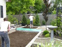 Landscaping Ideas Backyard Toronto  The Garden InspirationsLandscape My Backyard