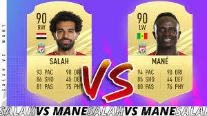 SALAH VS MANE FIFA 21 PLAYER REVIEW! FIFA 20 Ultimate Team - YouTube