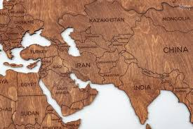 wooden map wall art free printable