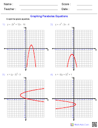 ideas collection graphing quadratic functions worksheets for your format layout