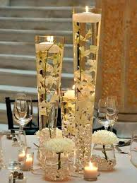 glass centerpieces luxury centerpiece vases tall trumpet heavy duty vase wedding party decoration clear set large