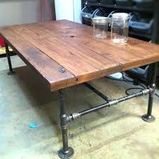 industrial steel coffee table appealing industrial style coffee table industrial style coffee table barn wood steel pipe rustic industrial steel coffee