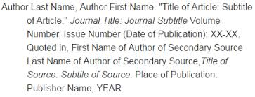 e secondary sources turabian citation style guide th edition  examples