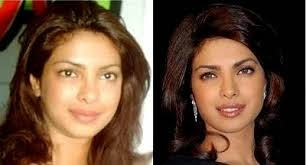but without it they look very ugly look how celebrity looks without makeup here is now priyanka a famous indian actress