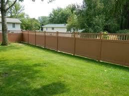 Brown vinyl privacy fence Beautiful Vinyl Light Brown Vinyl Privacy Fence20180816t1551350000 Pinterest Light Brown Vinyl Privacy Fence Caron Fence