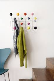 Coloured Ball Coat Rack Home Design White Eames Hang It All With Multicoloured Balls 85