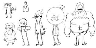 Regular Show Coloring Sheets Pages Mother Bunny Baking More Skips