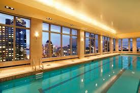 best hotels with indoor pools in spas or on rooftops nyc