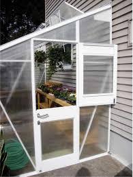 aluminum lean to greenhouse kits