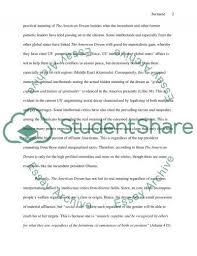 The American Dream Essay Example Essay Examples Pinterest