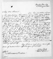 Lewis Fields Linn to Andrew Jackson, February 28, 1842 | Library of Congress