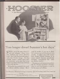 Hoosier Kitchen Cabinet Sunday Adverts Hoosier Kitchens Cabinets And Refrigerators In