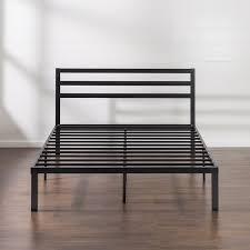 Metal Platform Bed Frame Benefit Platform Beds Attach Headboard