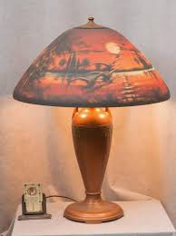 we lots of antique table lamps in our we mainly tiffany and