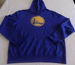Majestic Hoodie Size Chart Details About Golden State Warriors Pullover Hoodie Large Huge Royal Bridge Logo Majestic Nba