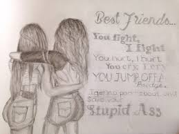 Best Friend Heart Coloring Pages Best Friend Heart Coloring Page