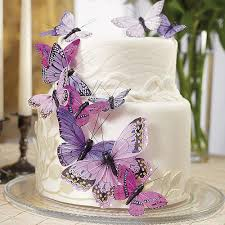 Butterfly Wedding Party Cake Set Candy Cake Weddings Favors And