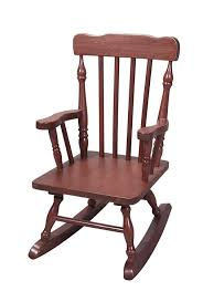 com gift mark child s colonial rocking chair honey kitchen dining