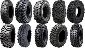 Mud Tire Comparison Chart Ten Of The Best All Terrain Utv Tires Atv Com