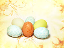 Happy Easter Eggs Free Ppt Backgrounds For Your Powerpoint