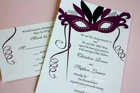 Masquerade Wedding Invites Masquerade Wedding Invites Kickalert