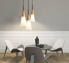 scandinavian lighting. Scandinavian Lighting. Pendant Lights Oak+glass+iron Dinning Room Lighting Brief Restaurant