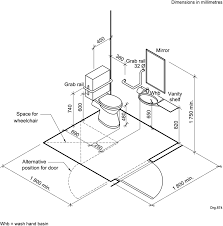Bathroom Handicap Bathroom Dimensions With Easy Guide To Help You - Handicap bathroom size