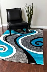 0327 turquoise 2 0x3 4 area rug carpet large new