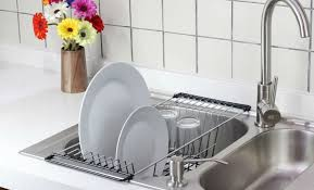 Above The Sink Dish Rack