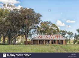 FICKSBURG, SOUTH AFRICA - MARCH 12, 2018: The ruin of the Gumtree railway  station building near Ficksburg in the Free State Province Stock Photo -  Alamy