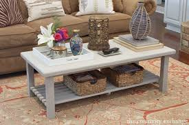 Quick Coffee Table Paint Revamp Paint It Monday Inside Sanding